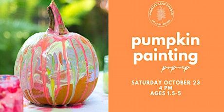 Pumpkin Painting Pop-Up (PM) tickets