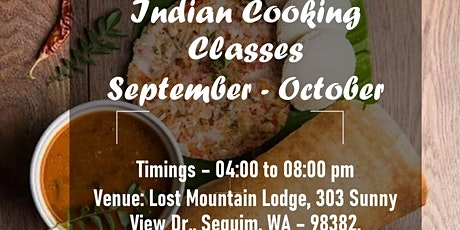 Authentic Indian Cuisine Cooking Classes tickets