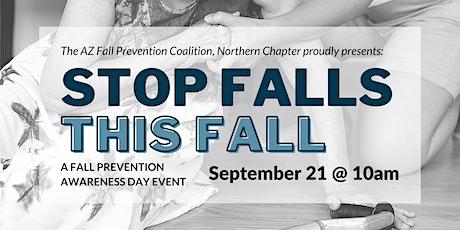 Fall Prevention Awareness Day 2021 biglietti