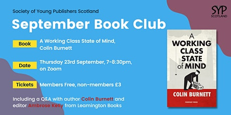 SYP Scotland Book Club tickets