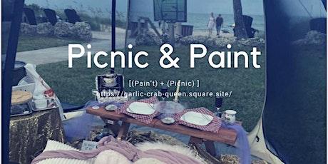 Beachfront Picnic & Paint tickets
