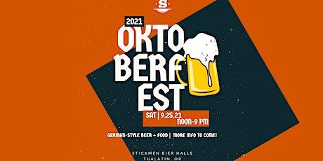Stickmen Brewing's Oktoberfest '21 tickets