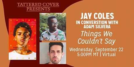 Live Stream with Jay Coles In Conversation with Adam Silvera Tickets