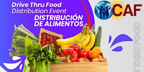 Food Distribution Event /  Distribucion de Alimentos -( Drive Thru) tickets
