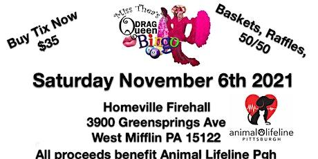 Drag Queen Bingo for Animal Lifeline tickets