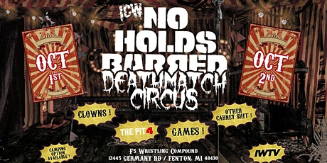 Deathmatch Circus '21: Night 1 tickets