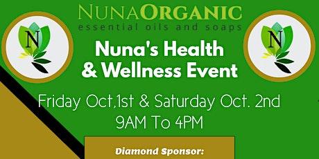 Nuna's Health & Wellness Event 2021 tickets