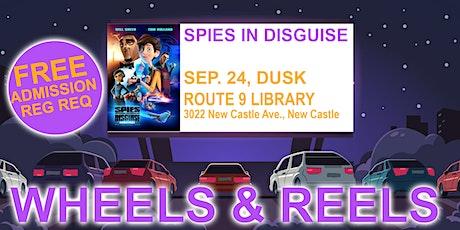 Wheels & Reels: Spies in Disguise tickets