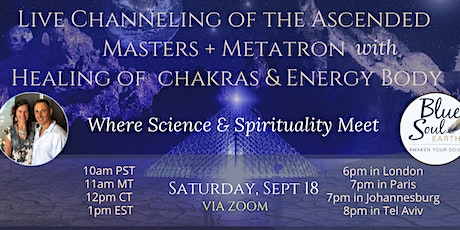 Live Channeling of the Ascended Masters bilhetes