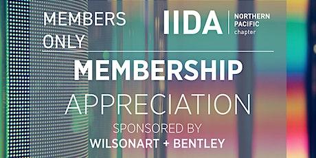 IIDA NPC // Member Appreciation Event tickets