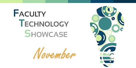Faculty Technology Showcase: National Distance Learning Week tickets