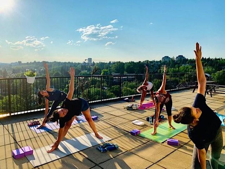 Rooftop Gentle Yoga;10-11:15AM image