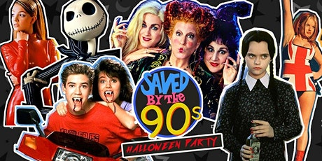 Saved By The 90s Halloween Party - Nottingham tickets