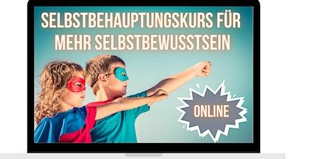 Online-Selbstbehauptungskurs für Kinder - Stark gegen Mobbing und Stress Tickets