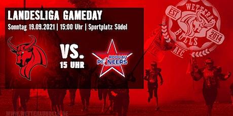 Wetterau Bulls Wölfersheim e.V vs- Rodgau Pioneers Tickets