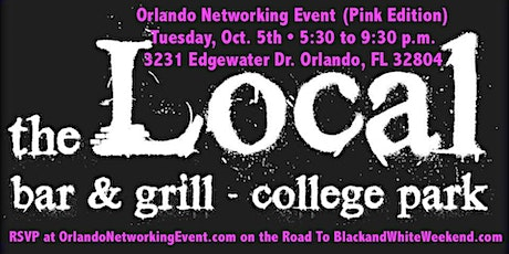 Orlando Networking Event (Pink Edition) at The Local Bar & Grill tickets
