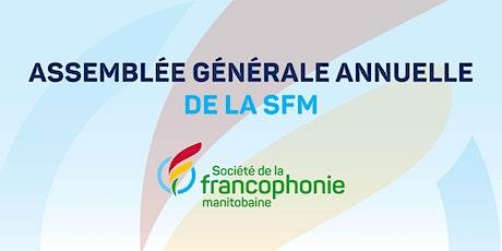 L'AGA de la Société de la francophonie manitobaine billets