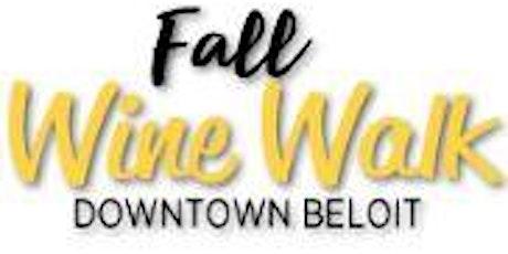 Downtown Beloit Fall Wine Walk tickets