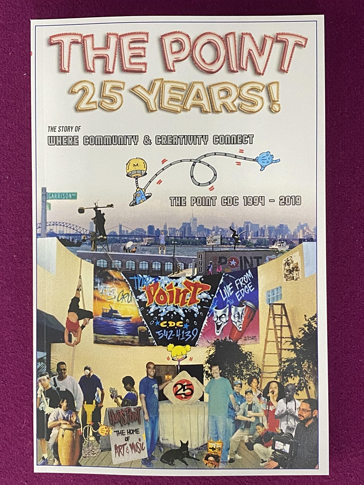 THE POINT 25 Years! Book Panel Discussion and Celebration image
