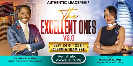 Kingdom Leadership Academy: THE EXCELLENT ONES V6.0 tickets