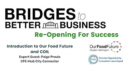 Introduction to Our Food Future and COIL tickets