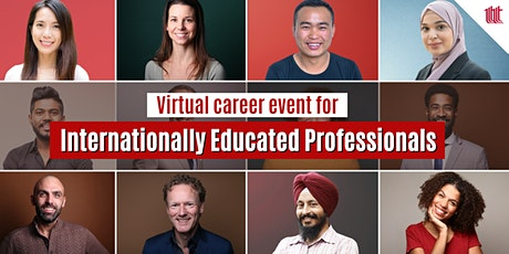 Internationally Educated Professionals Career Event tickets