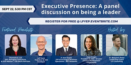 Executive Presence: A panel discussion on being a leader tickets