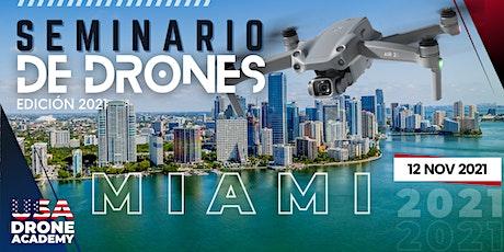SEMINARIO DE DRONES EDICIÓN 2021 (ONLINE) tickets