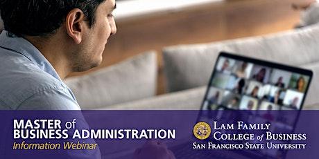 MBA - Information Webinar tickets