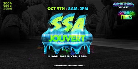 SSAJOUVERT section - Something Jouvert - Miami Carnival tickets