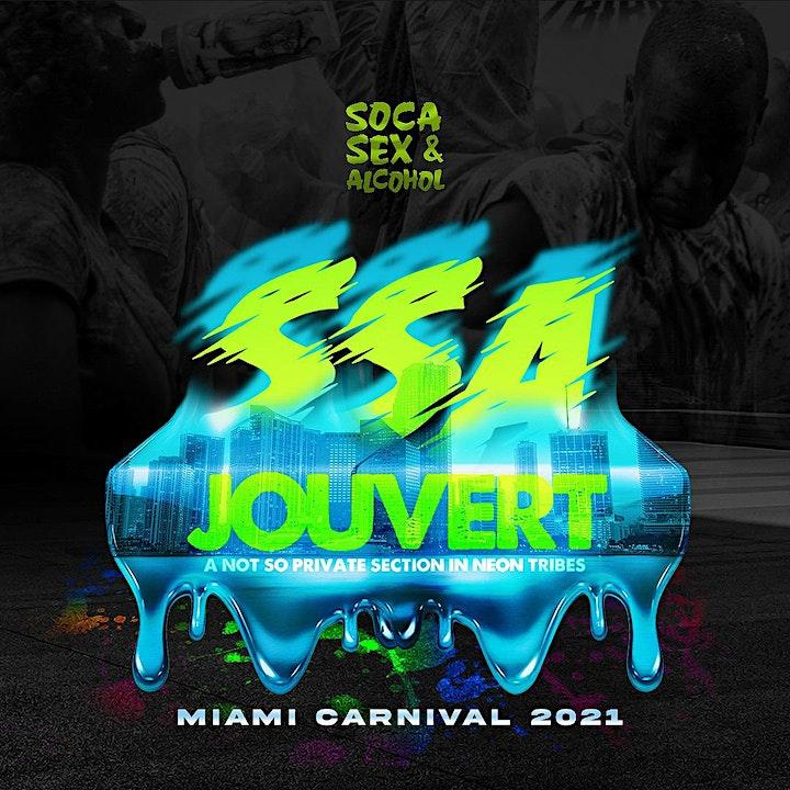 SSAJOUVERT section - Something Jouvert - Miami Carnival
