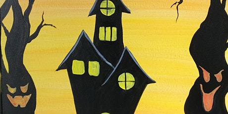 Paint Night Party at Jackrabbit Brewing Co. 'Haunted House' w/ Carrie! tickets