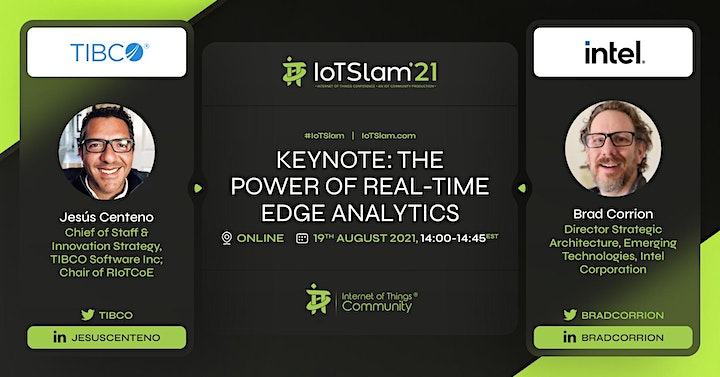 IoT Slam 2021 Internet of Things Conference image