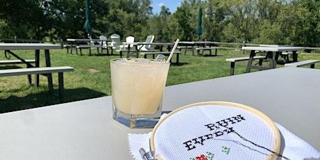 Cocktails & Life Skills: Subversive Cross Stitch tickets