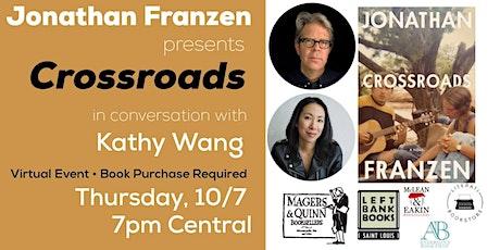 Jonathan Franzen presents Crossroads tickets