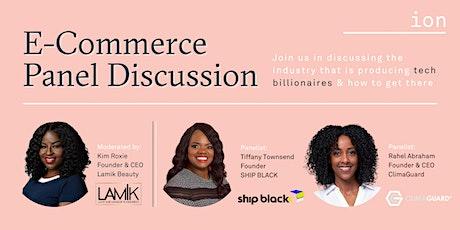 E-Commerce Panel Discussion | Kim Roxie, LAMIK Beauty tickets