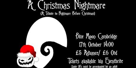 A Christmas Nightmare tickets
