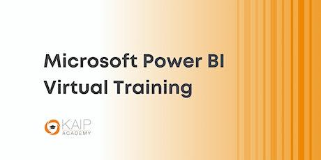 Microsoft Power BI Live/Virtual Training Course - Sept. 20-22, 2021 tickets