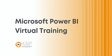 Microsoft Power BI Live/Virtual Training Course - Oct. 18-20, 2021 tickets