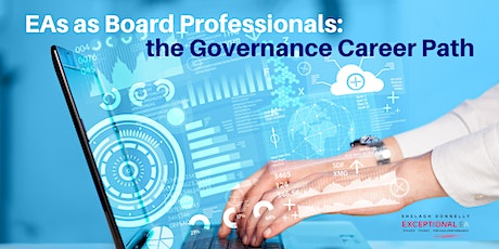 EAs as Board Professionals: the Governance Career Path, w/Shelagh Donnelly tickets