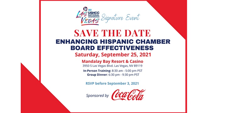 Enhancing Hispanic Chamber Board Effectiveness Training (In-Person) image