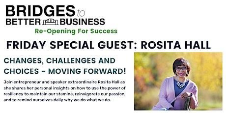 SPECIAL EVENT: CHANGES, CHALLENGES AND CHOICES -  MOVING FORWARD! tickets