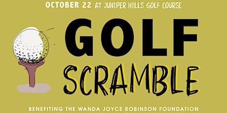 WJRF Golf Scramble tickets