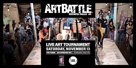 Art Battle Wichita Falls - November 13, 2021 tickets