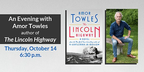 The Bookworm Presents an Evening with Amor Towles tickets