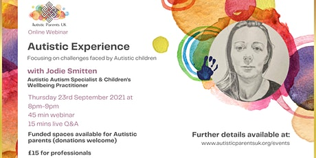 Autistic Experience with Jodie Smitten tickets