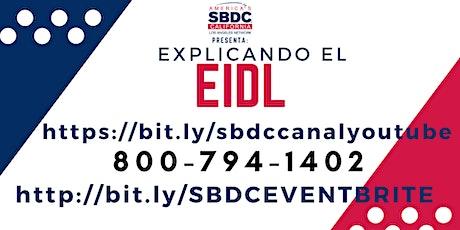 EIDL - Actualización del Préstamo (Pre-grabado) entradas