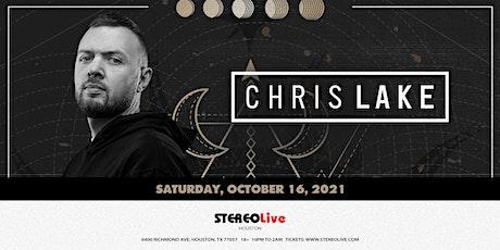 Chris Lake - Stereo Live Houston tickets