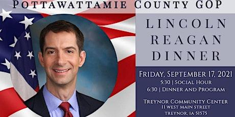 Pottawattamie County GOP's Lincoln Reagan Dinner | Senator Tom Cotton tickets