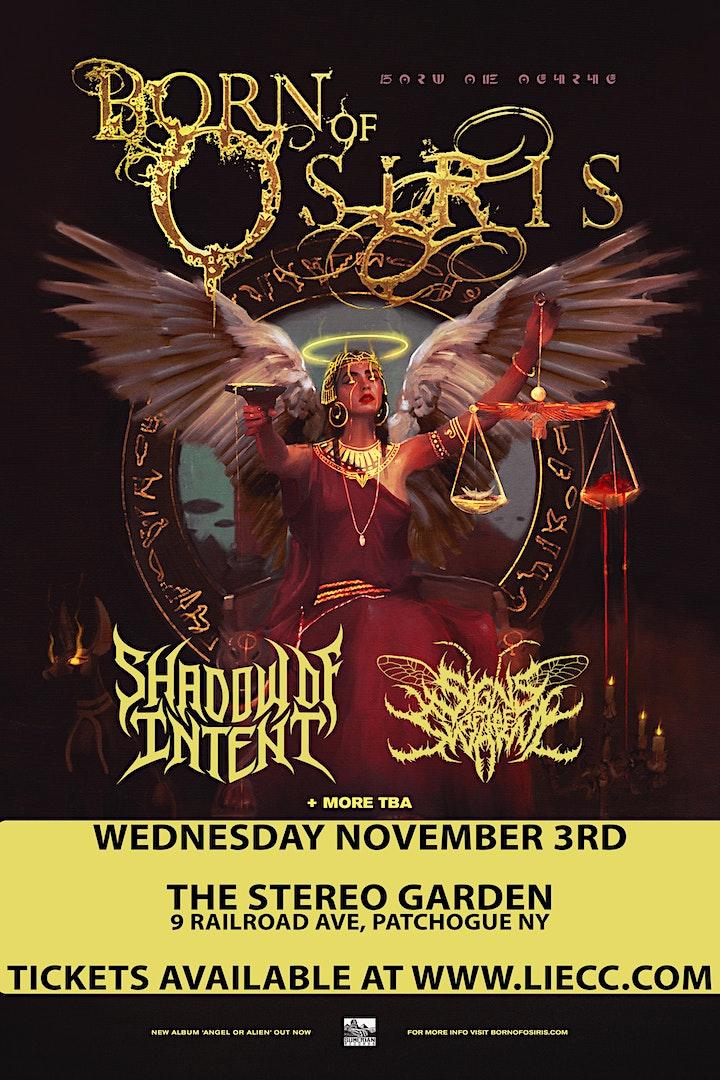 Born of Osiris - Angel of Alien Tour image